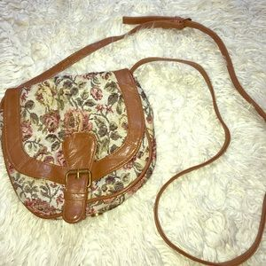 Vintage Floral Shoulder Bag 💐